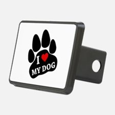 I Heart My Dog Hitch Cover