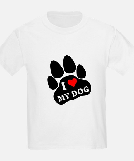 I Heart My Dog T-Shirt