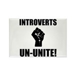 Introverts Un Unite Rectangle Magnet (10 pack)