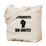 Introverts Un Unite Tote Bag
