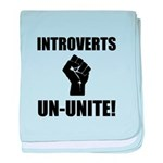 Introverts Un Unite baby blanket