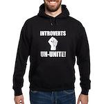 Introverts Un Unite Hoodie (dark)
