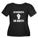 Introverts Un Unite Women's Plus Size Scoop Neck D