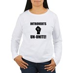 Introverts Un Unite Women's Long Sleeve T-Shirt
