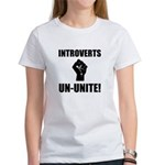 Introverts Un Unite Women's T-Shirt