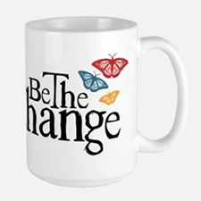 Be the Change - Earth - Red Vine Large Mug