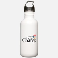 Be the Change - Earth - Red Vine Water Bottle
