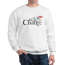 Be the Change - Earth - Red Vine Sweatshirt