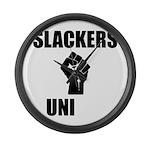 Slackers Uni Large Wall Clock