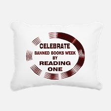 BanBookGold.png Rectangular Canvas Pillow