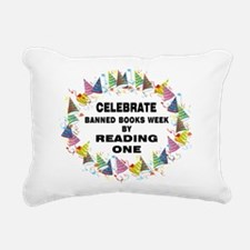 BanBooks3Poster1620.png Rectangular Canvas Pillow