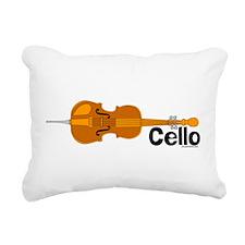 CelloHoriz.png Rectangular Canvas Pillow