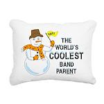 Coolest Parent Rectangular Canvas Pillow