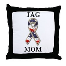 jag mom Throw Pillow