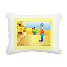 Geocacher Rectangular Canvas Pillow