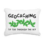 Poison Ivy Rectangular Canvas Pillow