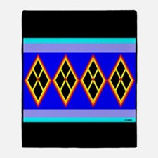 SEMINOLE INDIAN PATCHWORK Throw Blanket