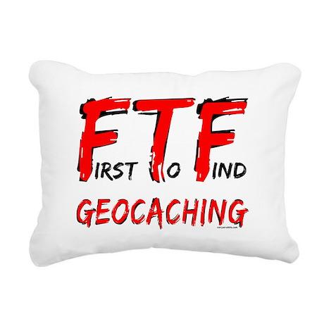 FTFtxtRED2.png Rectangular Canvas Pillow