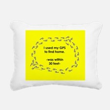 NotHomeMUGyel.png Rectangular Canvas Pillow