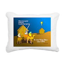 NotMajiShed1.png Rectangular Canvas Pillow