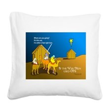 NotMajiShed1.png Square Canvas Pillow