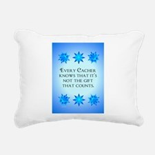GeoFlak_Out3.png Rectangular Canvas Pillow