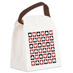 Deck Of Cards Canvas Lunch Bag