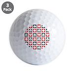 Deck Of Cards Golf Balls