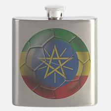 Ethiopia Football Flask
