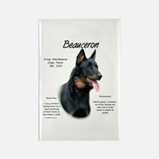 Beauceron Rectangle Magnet