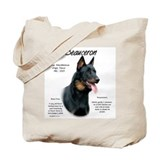 Beauceron Canvas Totes