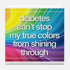 Insulin Inspirations 2 Tile Coaster