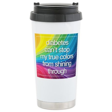 Insulin Inspirations 2 Stainless Steel Travel Mug
