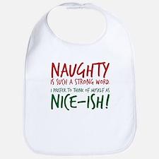 Naughty or Nice-ish? Bib