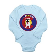 THE Official ColoRADogs Logo Long Sleeve Infant Bo