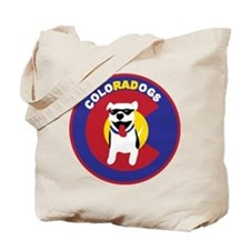 THE Official ColoRADogs Logo Tote Bag
