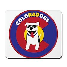 THE Official ColoRADogs Logo Mousepad