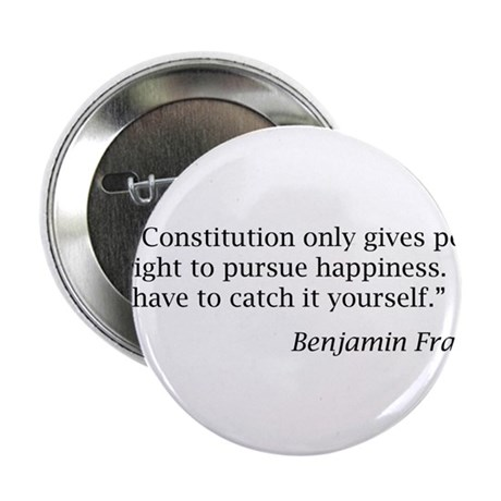 "Franklin: ""The Constitution only gives people..."""