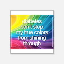 "Insulin Inspirations 2 Square Sticker 3"" x 3"""