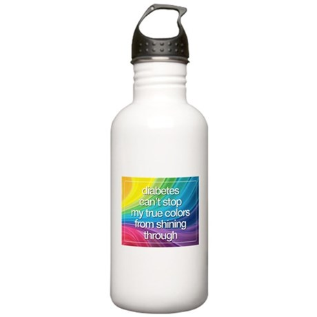Insulin Inspirations 2 Stainless Water Bottle 1.0L