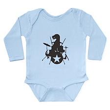 T-Rox Long Sleeve Infant Bodysuit