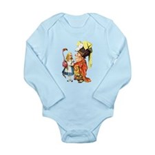 Alice and the Duchess Play Croquet Long Sleeve Inf