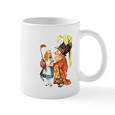Alice and the Duchess Play Croquet Mug