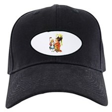 Alice and the Duchess Play Croquet Baseball Hat