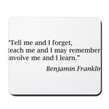 Teacher quote Classic Mousepad