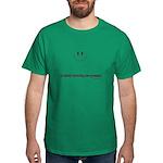 silently correcting your grammar Dark T-Shirt