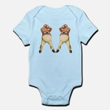 Tweedledee and Tweedledum Infant Bodysuit