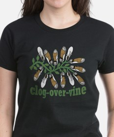 Clog Over Vine Dance Tee