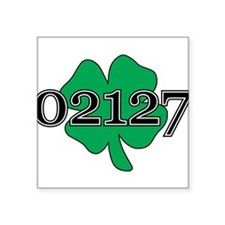 "02127 Southie, Boston Square Sticker 3"" x 3"""