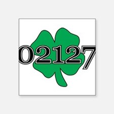 "02127 Southie, Boston Square Sticker 3"" x 3"""